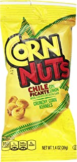 Sponsored Ad - Corn Nuts Chile Picante con Limon Crunchy Corn Kernels (1.4 oz Bags, Pack of 144)