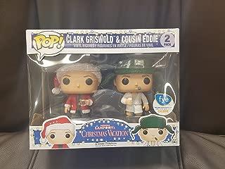 Funko Pop Vacation Clark Griswold and Cousin Eddie National Lampoon's FYE Exclusive Vinyl Figures