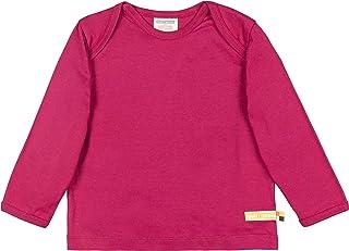 loud + proud Shirt Uni Aus Bio Baumwolle, Gots Zertifiziert Sweat, Rose (Berry BER), 68 (Taille Fabricant: 62/68) Mixte bébé