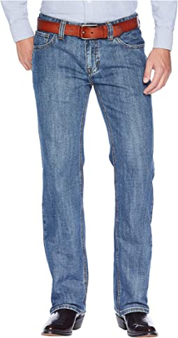 Pistol Straight Leg in Medium Wash M1P7399