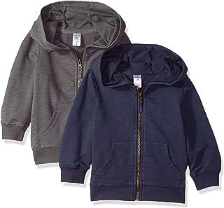 Boys' Big' 2-Pack Full Zip Hoodies