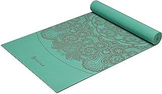 Gaiam Premium Print Yoga Mat, Medallion Sea, 6mm