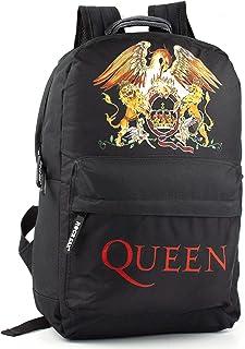 Mochila Rock Sax Queen Crest con Logo Estampado