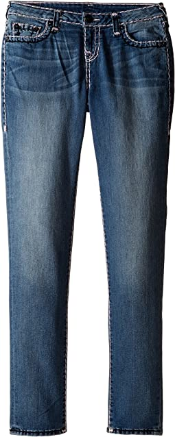 Casey Color Combo Super T Jeans in Diamond Wash (Big Kids)