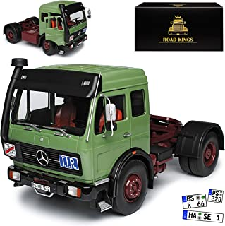Road Kings RK180042 - Mercedes Ng 1632 Green & Red 1973 - Escala 1/18 - Modelo Coleccionable