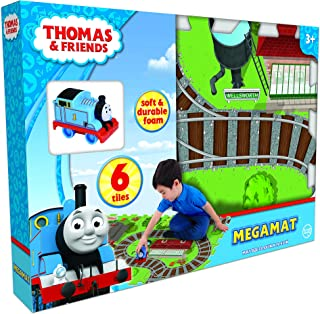 Thomas & Friends 6Pc Mega Floor Mat with Vehicle Playmat with Vehicle