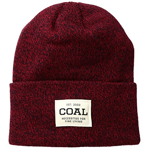 Coal Men s The Uniform Fine Knit Workwear Cuffed Beanie Hat 3a2d96976ef7