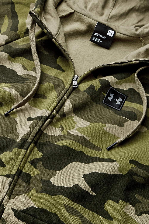 Under Armour mens Rival Fleece Camo Full Zip Hoodie