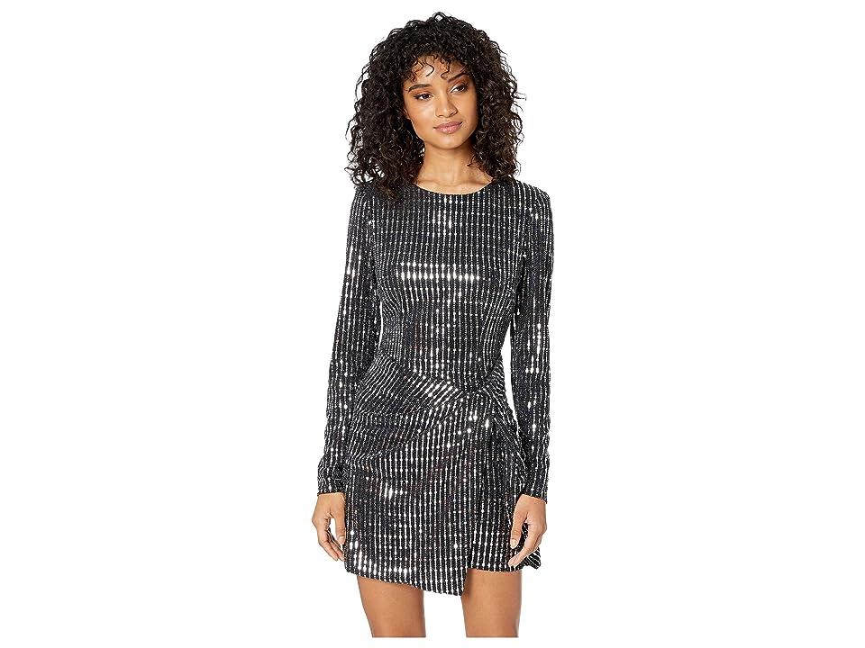 ASTR the Label On the List Dress (Black Mirror) Women