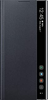 Samsung Note 10 Plus Clear View EF-ZN975CBEWW With Sensor and Flip Smart Make sure you are the first to open the box - Black