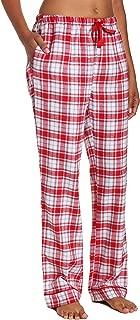 Twin Boat Plaid Pajama Pants Women - 100% Cotton...