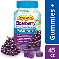 45-Count Emergen-C Immune+ Gummies Immune Support with 750mg