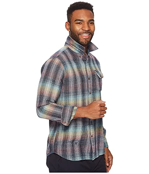 VISSLA Sleeve Flannel Sabroso Top Long CBYCUfq