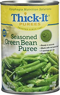 Thick-It Purees Seasoned Green Beans, 15 oz Can (Pack of 1)