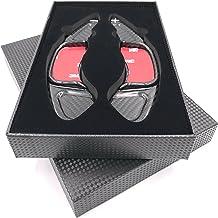 H-Customs Levas En Volante Dsg levas de cambio Shift Paddle hecho de carbono real para Golf 7 solo GTI R GTD Polo Gti 18 REAL CARBON