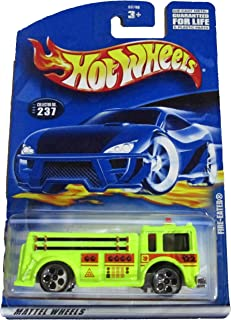 Hot Wheels 2001 Fire-Eater Collectible Collector Car #237 1:64 Scale Collectible Die Cast Car