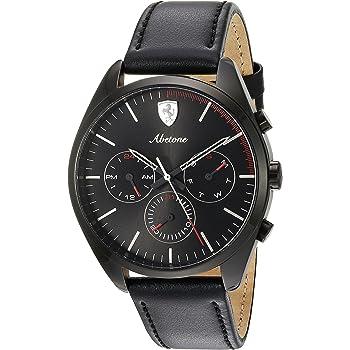 Ferrari Men's 0830503 Abetone Analog Display Quartz Black Watch