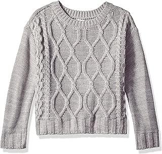 Crazy 8 Girls' Big Long Sleeve Popover Sweater