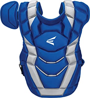EASTON ELITE X Baseball Catchers Chest Protector   2020   Stacked AB Memory Foam For Rebound Control + EVAIR Foam   4 Point Strap System for Superior Fit + Comfort   NOCSAE Commotio Cordis Foam