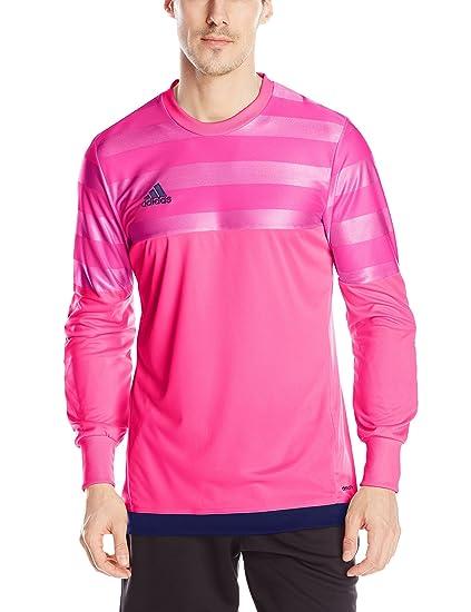 adidas Performance Men's Soccer Entry 15 Goalkeeper Jersey, Pink ...