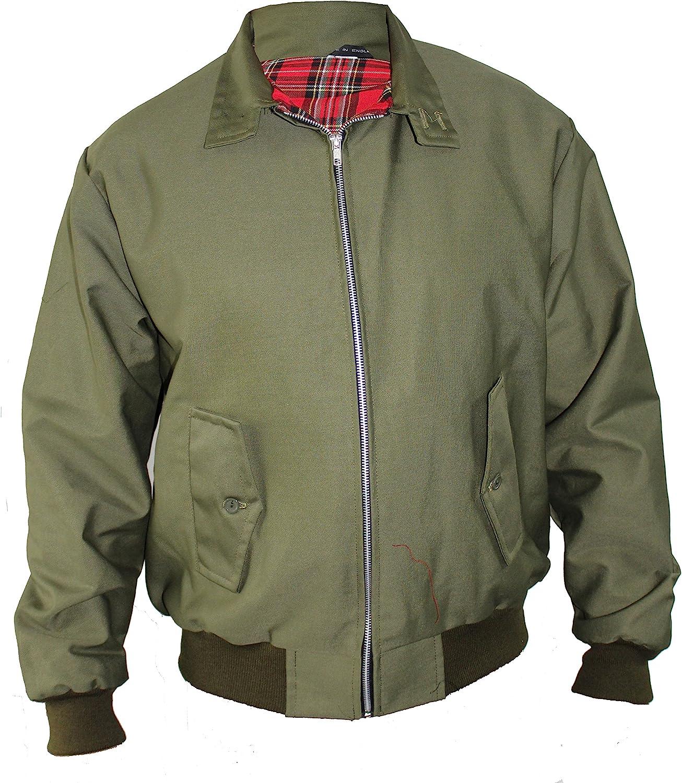 50s Men's Jackets | Greaser Jackets, Leather, Bomber, Gabardine Harrington Jacket Classic/Retro/Mod/Scooter by SKYTEXUK 10 colours sizes XS - 8XL £23.98 AT vintagedancer.com