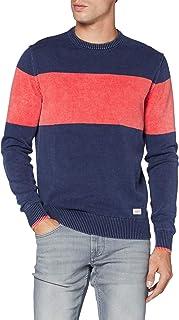 HKT by Hackett Hkt Block Stripe Crew suéter para Hombre