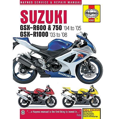 suzuki gsxr600 gsxr750 gsxr1000 gsxr 600 750 1000 haynes repair manual 4382