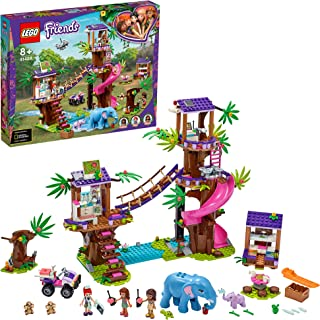 LEGO Friends Jungle Rescue Base 41424 building set with 3 mini-dolls and accessories, Toy for Kids 8+ years old (648 pieces)
