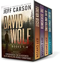 The David Wolf Mystery Thriller Series: Books 1-4 (The David Wolf Series Box Set)