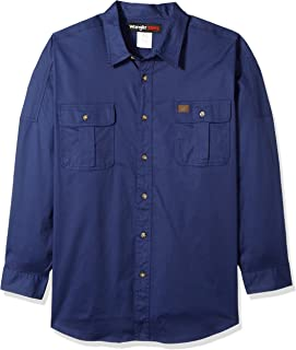 قميص Wrangler RIGGS للعمل الكبير والطويل والمقدم المريح