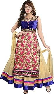 PC Chandan Creation Embroidered Net Abaya Style Suit