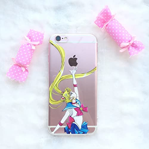new styles 9f1f5 2bb38 Sailor Moon Iphone 6s Case: Amazon.com