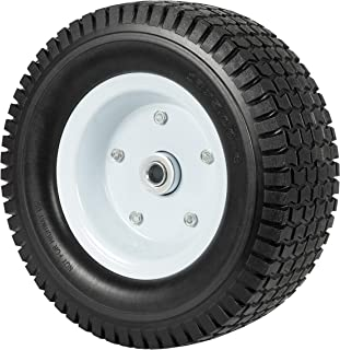 Heavy Load Flat Free Extra Wide Wagon Dolly Cart Tire (11-3/4