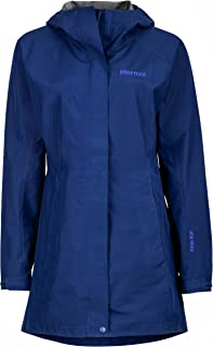 Marmot Essential Women's Lightweight Waterproof Rain Jacket, Gore-TEX with Paclite Technology, Arctic Navy, Large
