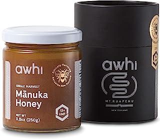 Sponsored Ad - Awhi Certified UMF15+ (MGO514+) Single Harvest Raw Mānuka Honey│Ethically Harvested Superfood│Super Premium...