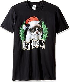 تي شيرت رجالي Grumpy Cat Bah Humbug من T-Line