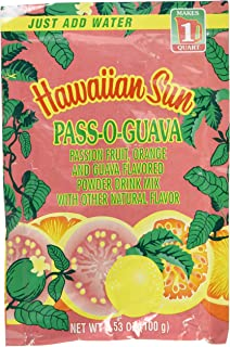 Hawaiian Sun Pass-o-guava POG Nectar Powder Drink Mix From Hawaii, 3.53 Ounce