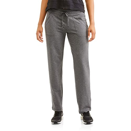 Athletic Works Womens Knit Lounge Pant with Pockets(Regular and Plus)