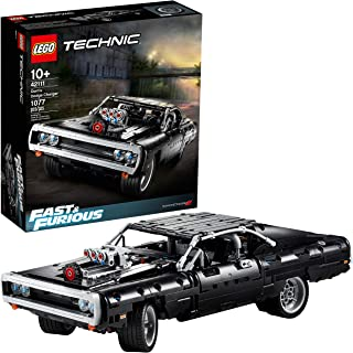 LEGO Technic Fast & Furious Dom's Dodge Charger 42111 Race Car Building Set, New 2020 (1,077 Pieces)