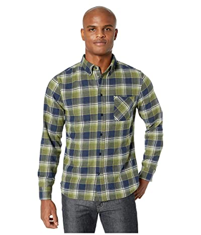United By Blue Long Sleeve Pitchstone Plaid Shirt (Midnight) Men