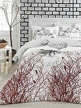 Eponj Home Single Quilt Cover Set - Duvet Cover: 140 x 200 cm Pillowcase: 60 x 60 cm (1 Piece)