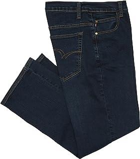 7bc70bd4 Lee Cooper Workwear LCPNT219 Mens Work Safety Stretch 5 Pocket Denim Work Jeans  Pants, Navy