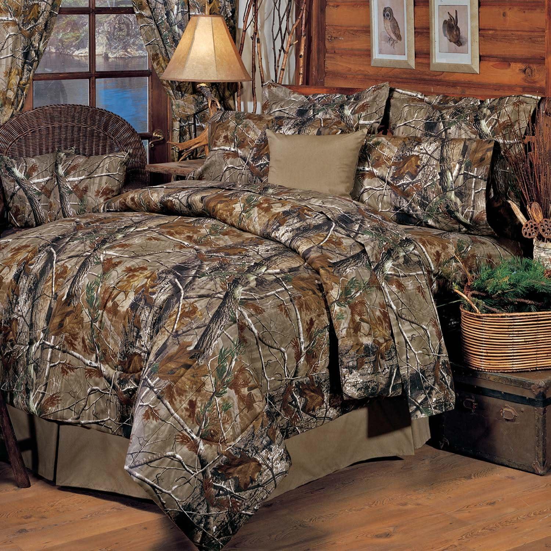 Amazon.com: Realtree All Purpose Comforter Set, King: Home & Kitchen