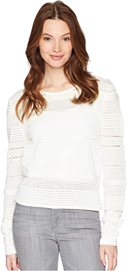 Zinnia Pointelle Sweater