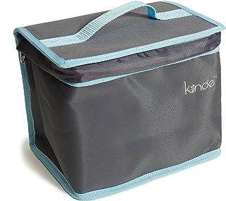 Kiinde Twist Breast Milk Storage Bag and Ice Pack Kit for Breastfeeding Moms - Gray
