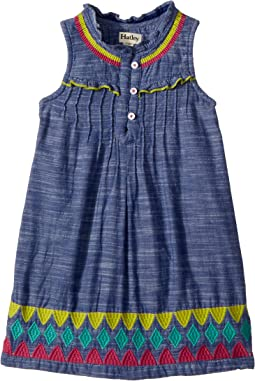 Rainfall Chambray Dress (Toddler/Little Kids/Big Kids)