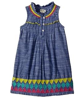 Rainfall Chambray Dress (Toddler/Little Kids/Big Kids)