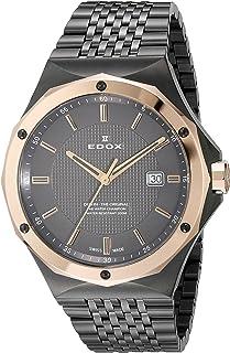 EDOX - Delfin The Original Reloj de Hombre Cuarzo Suizo 43mm 53005 37GRM Gir