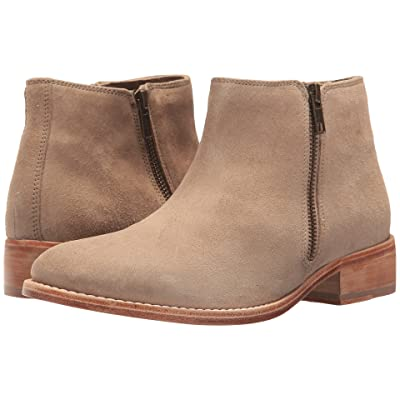 Johnston & Murphy Shelby (Taupe Kid Suede) Women