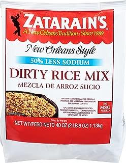 Zatarain's Reduced Sodium Dirty Rice Mix, 40 oz